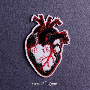 Heart Style Clothing Iron On Patch Collection (9 Designs) - CoolSticker
