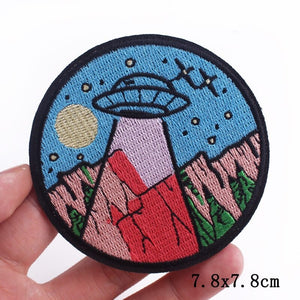UFOM Clothing Iron On Patch - CoolSticker