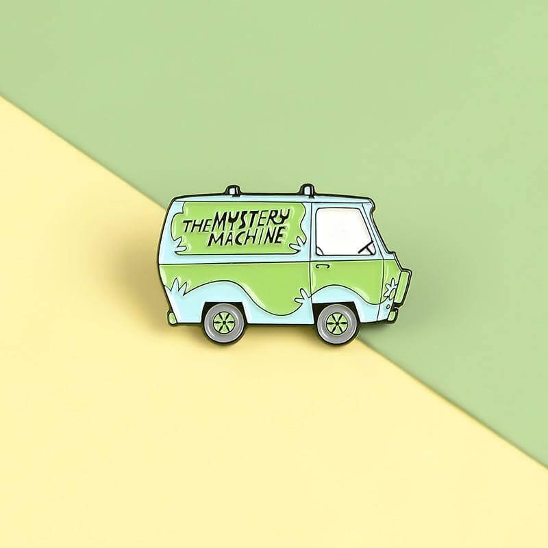 THE MYSTERY MACHINE Enamel Pin - CoolSticker