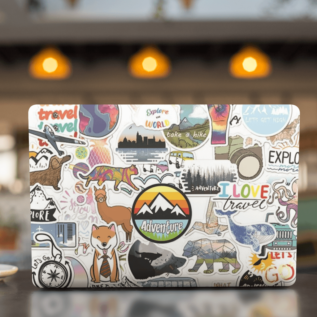 Camping Landscape Stickers Pack