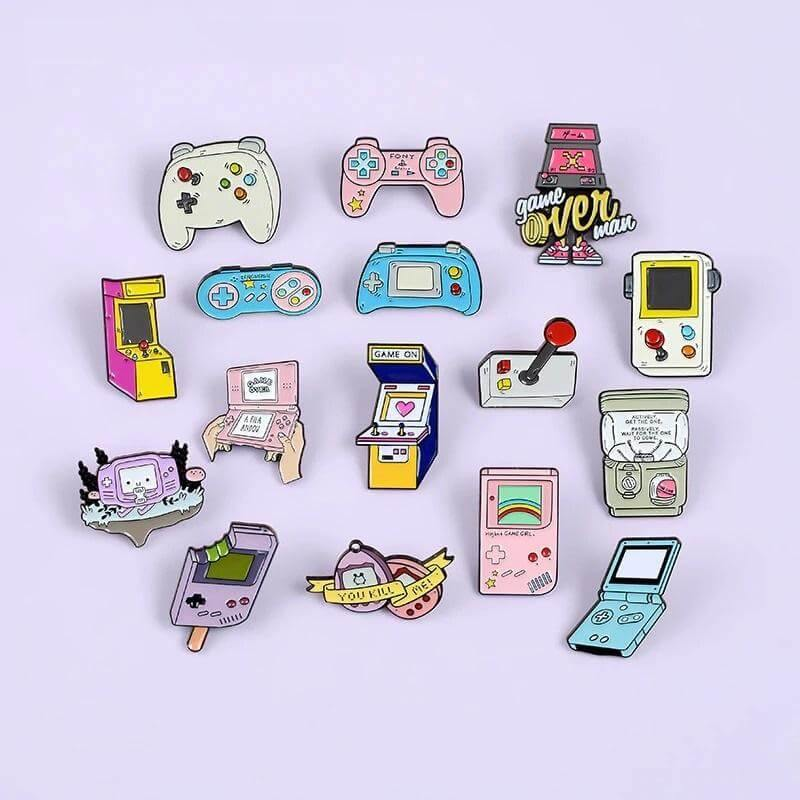 Game lovers  Enamel Pins Collection