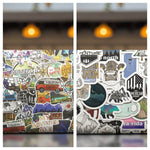 Special Bundle: Outdoor and Travel Theme Stickers Bundle (100 PCS)
