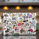 Husky Dog Stickers Pack - CoolSticker