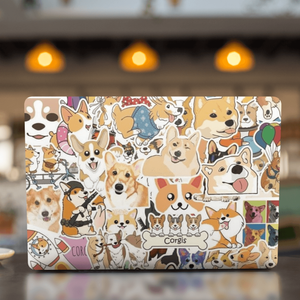 Dogs Corgis Cartoon Stickers Pack - CoolSticker