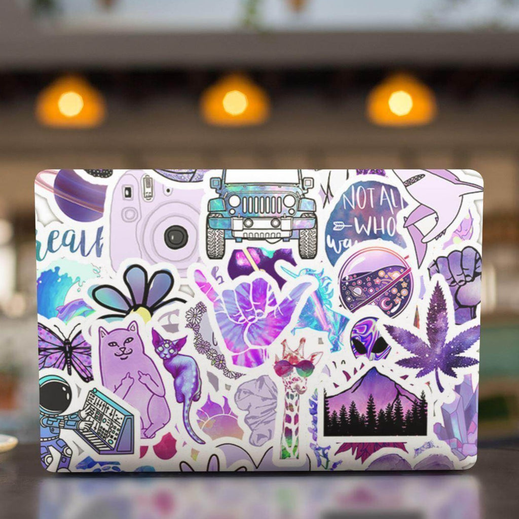 Purple INS Stickers Pack - CoolSticker