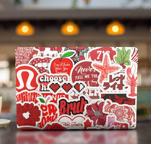Red INS Stickers Pack - CoolSticker