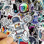 Spaceman Style Stickers Package Stickers CoolSticker