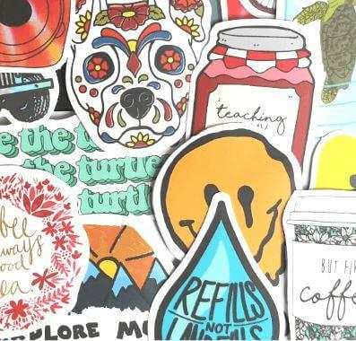 S006: Vsco Girl Sticker Package Stickers CoolSticker