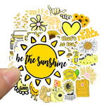 Yellow Ins Style Stickers Package Stickers CoolSticker