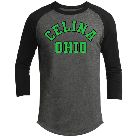 Celina Ohio, Unisex 3/4 Sleeve Cotton T-Shirt