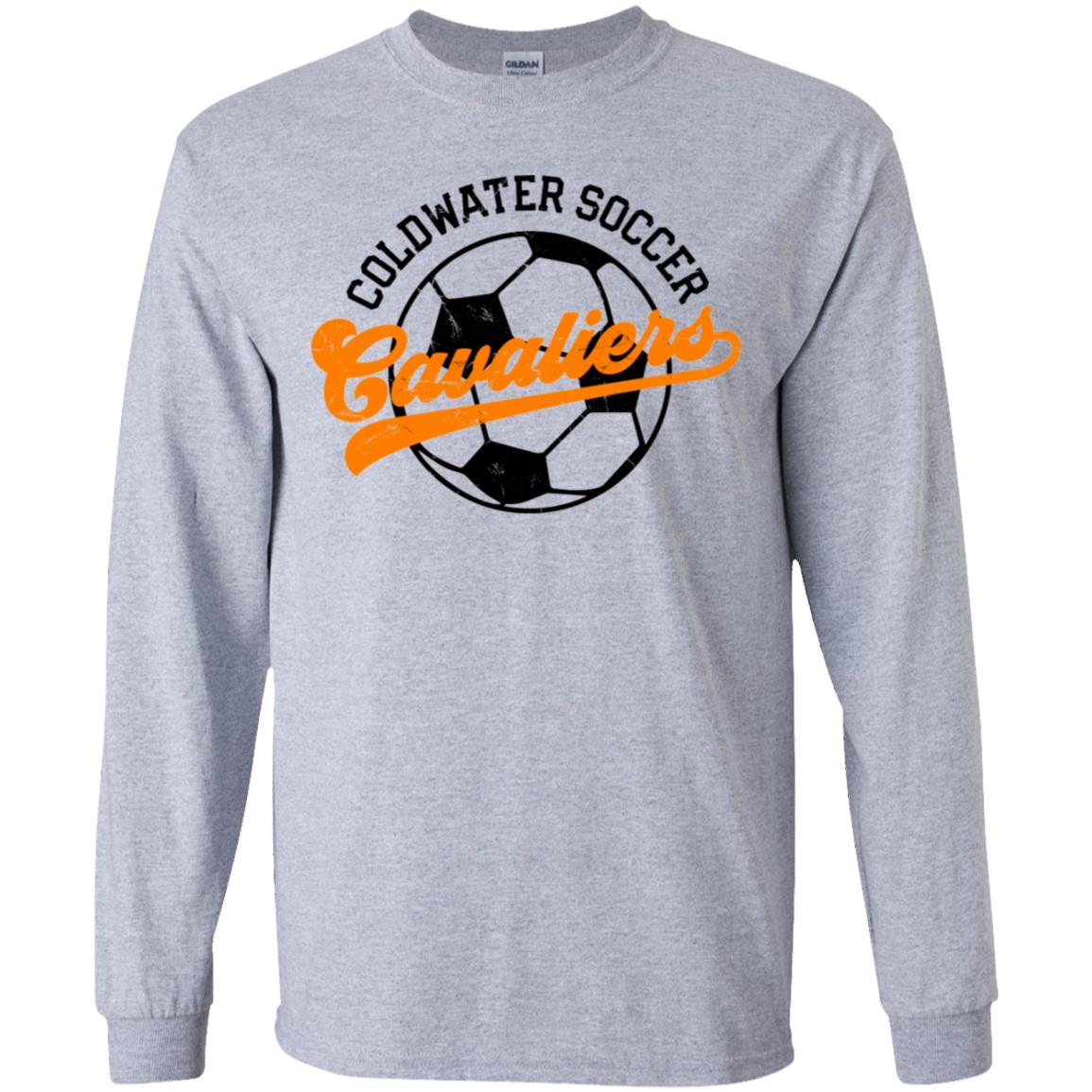 Coldwater Soccer, Youth Long Sleeve T-Shirt