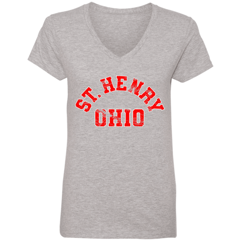 SH Ohio, V-Neck T-Shirt
