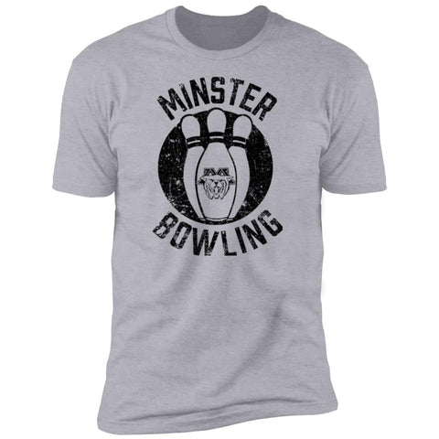 Minster Bowling, Unisex Premium Cotton T-Shirt