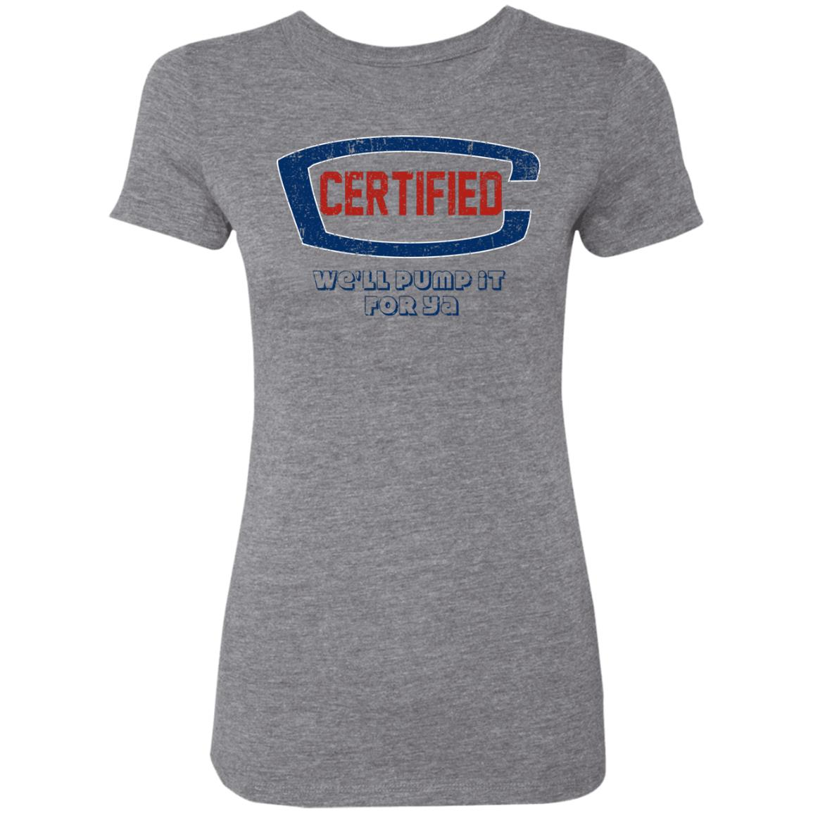 Certified Service Station, Triblend T-Shirt