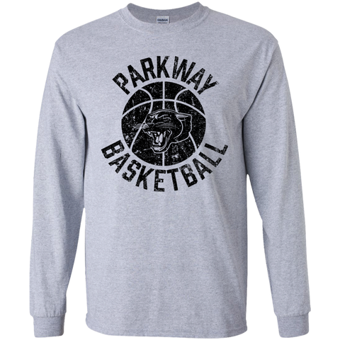Parkway Basketball, Youth Long Sleeve T-Shirt