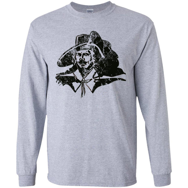 Captain Cavalier, Youth Long Sleeve T-Shirt