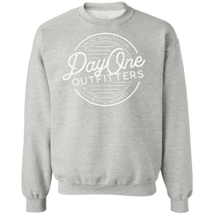 Day One Radial, Unisex Crewneck Pullover Sweatshirt