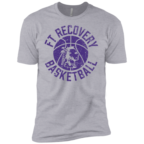 Fort Recovery Basketball, Youth Cotton T-Shirt