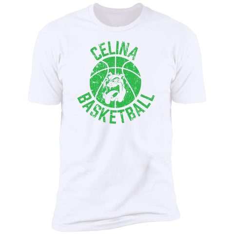 Celina Basketball, Unisex Premium Cotton Short Sleeve T-Shirt