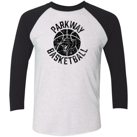 Parkway Basketball, Unisex Triblend 3/4 Sleeve T-Shirt