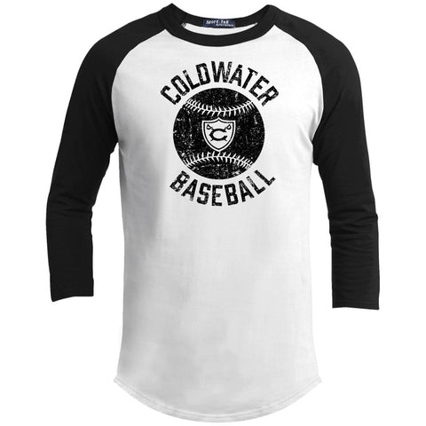 Coldwater Baseball, Youth 3/4 Sleeve T-Shirt