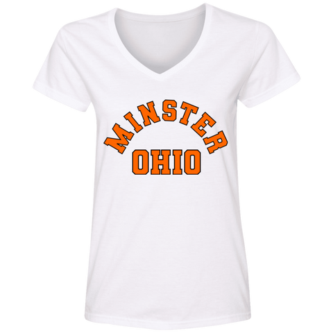 Minster Ohio, V-Neck T-Shirt