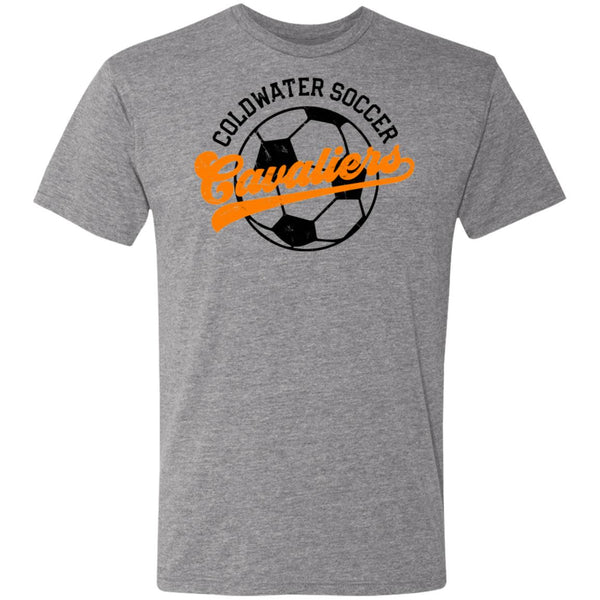 Coldwater Soccer, Triblend T-Shirt