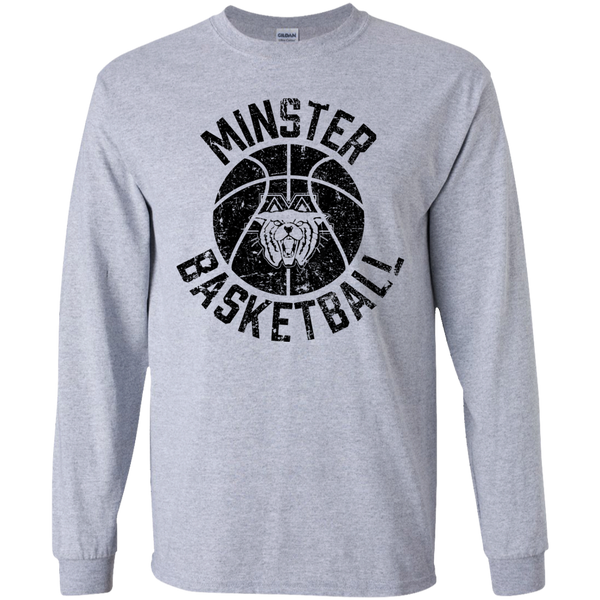 Minster Basketball, Youth Long Sleeve T-Shirt