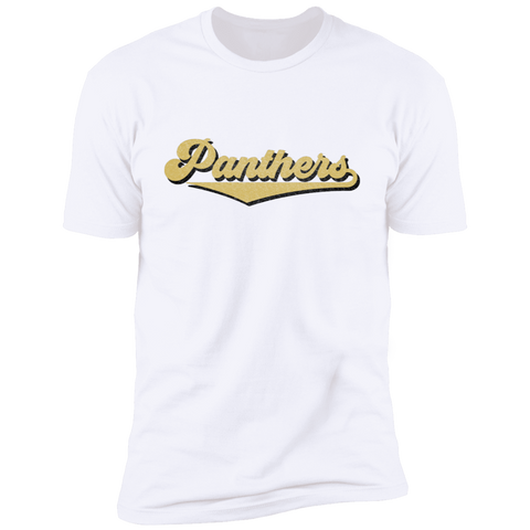 Panthers, Unisex Premium Cotton T-Shirt