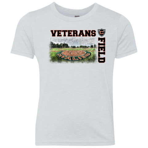 Veterans Field, Youth Triblend T-Shirt