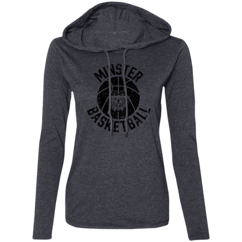 Minster Basketball, Long Sleeve T-Shirt Hoodie