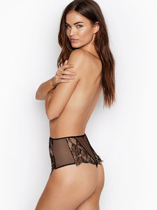 Very Sexy High-rise Embroidered Thong Panty