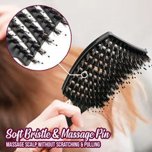 Load image into Gallery viewer, [Buy 1 Free 1] SHAPE™ Detangler Bristle Nylon Hairbrush