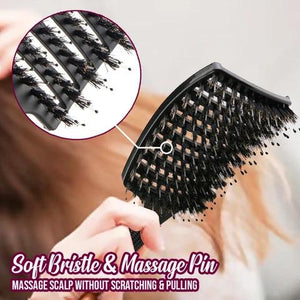 [Buy 1 Free 1] SHAPE™ Detangler Bristle Nylon Hairbrush