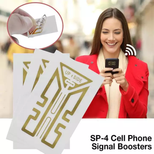 [3 For RM89] SHAPE™ Cell Phone Signal Enhancement Stickers-Signal Booster