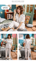 Load image into Gallery viewer, Satin Pajama Set