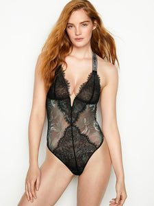 Very Sexy Embellished Shine Strap V-wire Teddy by Victoria's Secret
