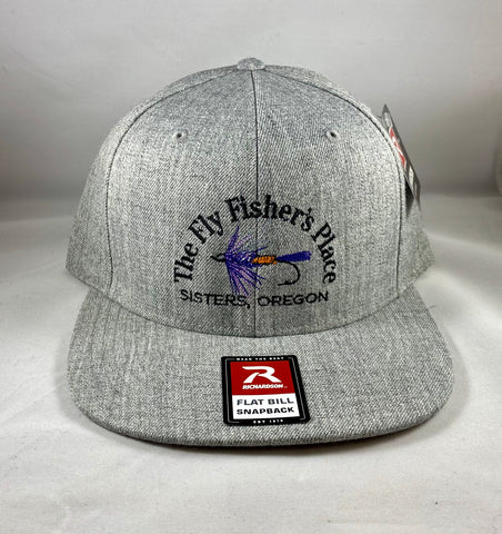 FFP Flat Bill Hat Grey