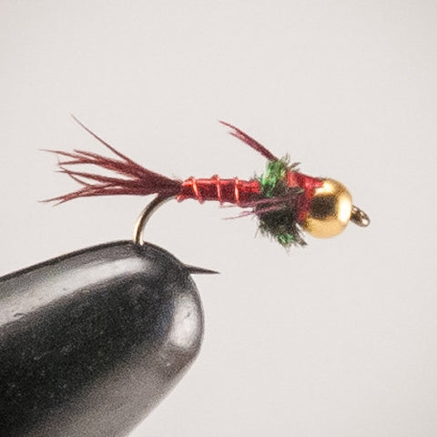 Red Lightning Bug #16