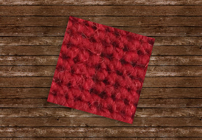 German Square Weave 328 Bright Red