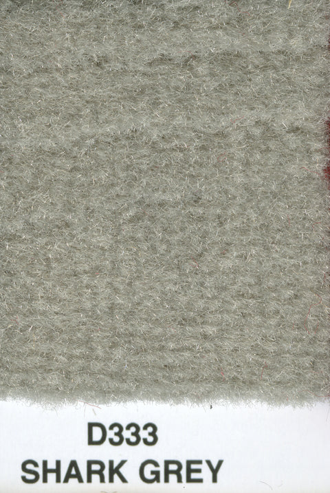 Mercedes Fine Tuft Velour Carpet Shark Grey