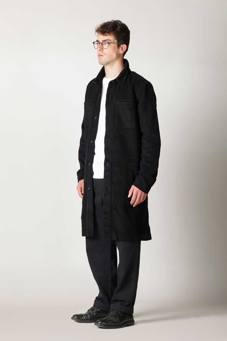 unlined coat