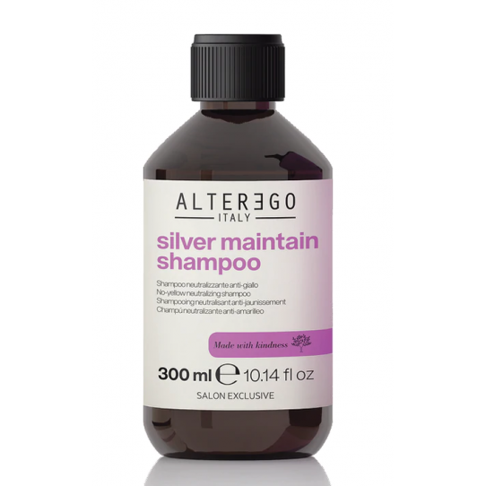 ALTEREGO SILVER MAINTAIN SHAMPOING ANTI-JAUNISSEMENT 300ML
