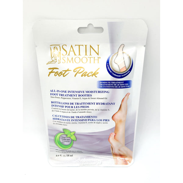 SATIN SMOOTH  FOOT PACK 18ML