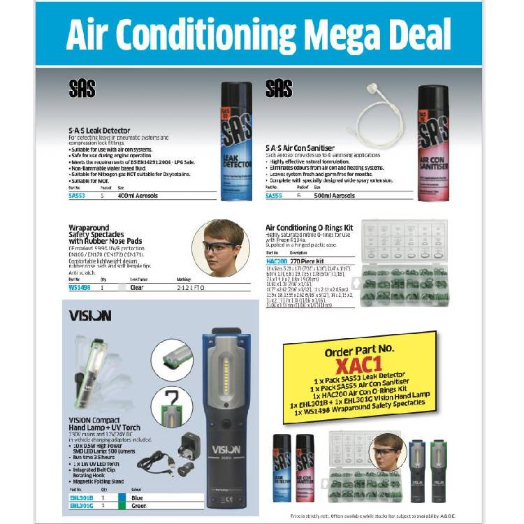 Air conditioning bundle