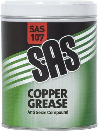 SAS Copper Grease Tin 500g - 3Kg