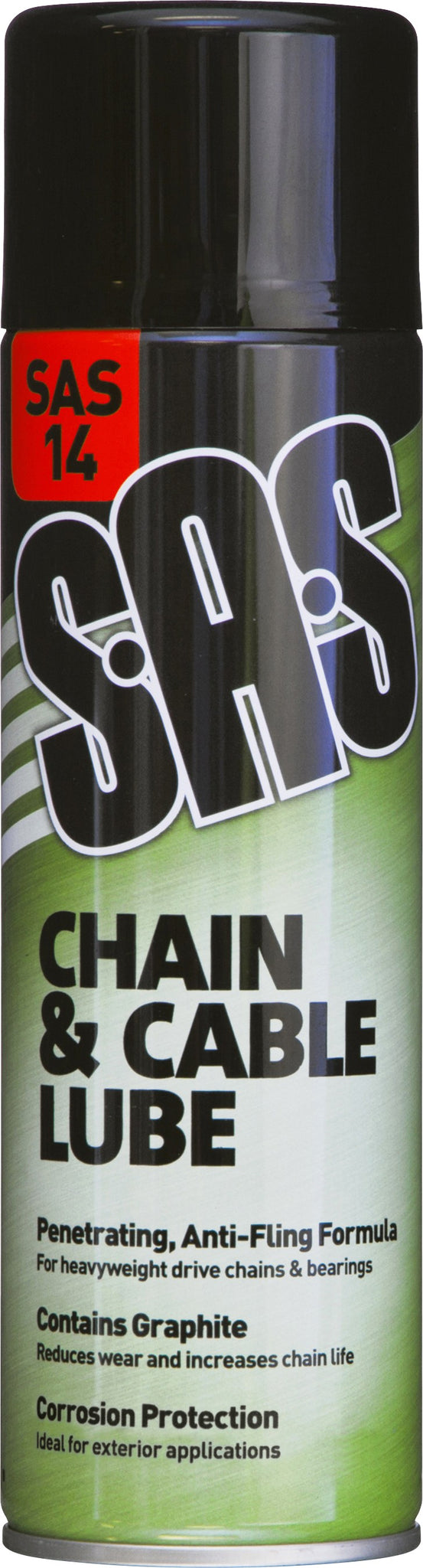 SAS14 Chain and Cable Lube 500ml. Pack of 6.
