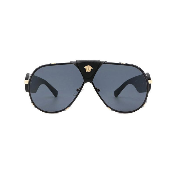 6 Colors Retro Matel Big Round Frame Sunglasses