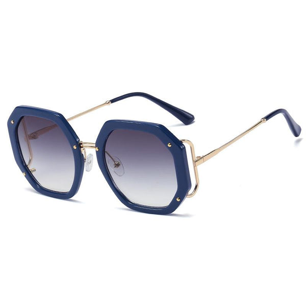 6 Colors Fashion Polygon Frame Sunglasses