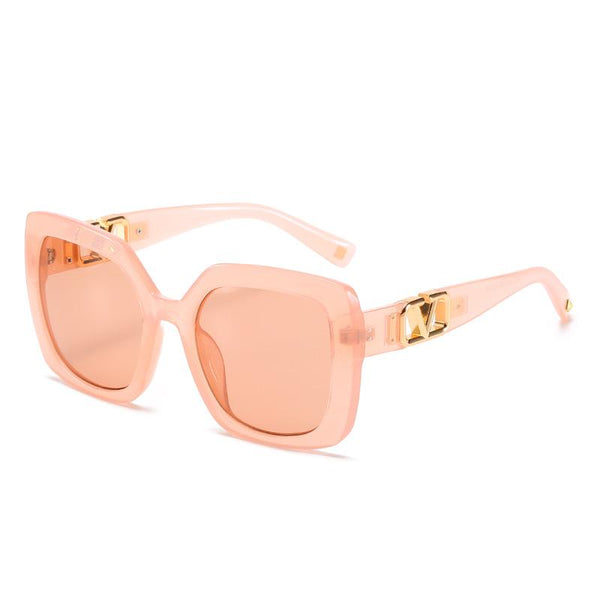 7 Colors Fashion Hollowing V Shape Sunglasses